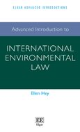 Cover Advanced Introduction to International Environmental Law