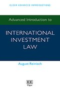 Cover Advanced Introduction to International Investment Law