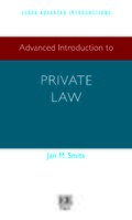 Cover Advanced Introduction to Private Law