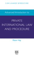 Cover Advanced Introduction to Private International Law and Procedure