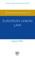 Cover Advanced Introduction to European Union Law