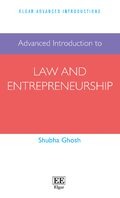 Cover Advanced Introduction to Law and Entrepreneurship