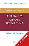 Advanced Introduction to Alternative Dispute Resolution
